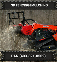 SD FENCING & FORESTRY MULCHING