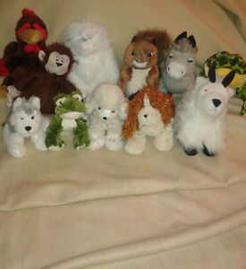 Assorted Webkinz Plush Toys- No codes attached
