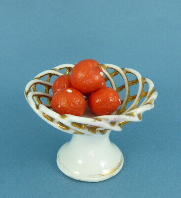 Vintage dolls house fruit dish.