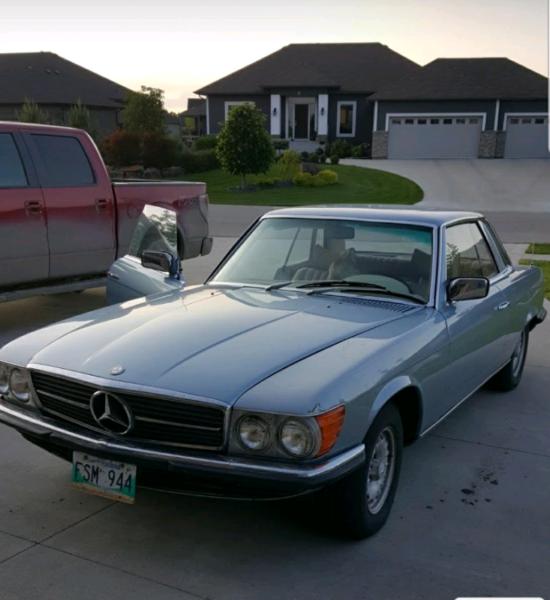 1976 Mercedes Benz 350 SLC For Sale