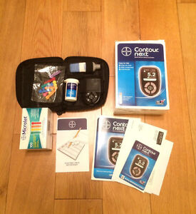 Contour Next -----blood glucose monitoring system