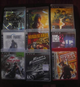 $50...Lot of 11 PS3 games.