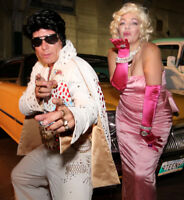 ELVIS & IMPERSONATORS! From TELEGRAMS To STAGE ~ SCHEME A DREAM
