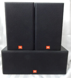 JBL 3 SPEAKER SYSTEM LIKE NEW