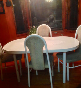 Great condition Dining Room Table and 6 Chairs