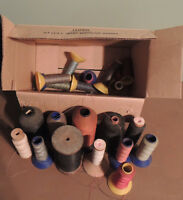 ASSORTMENT OF INDUSTRIAL SEWING THREAD