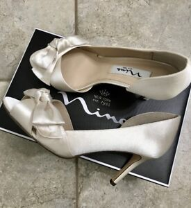 REDUCED PRICE: Beautiful Ivory Shoes - Never Worn - Great Deal!!