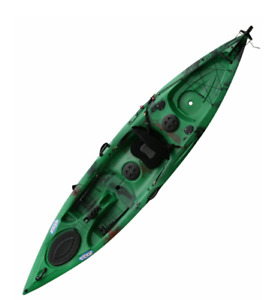 BRAND NEW LEISURE ANGLER KAYAK W/ FREE PADDLE!