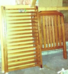 wooden crib- moving sale