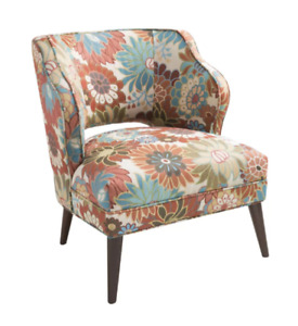 Floral Mod Accent Chair (new)