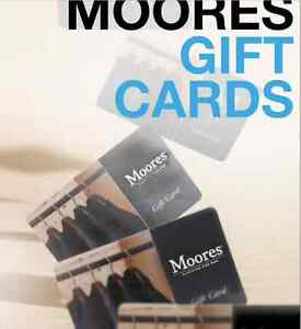 Moores Gift Card
