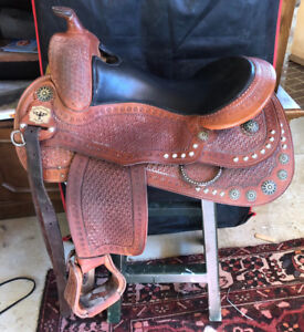 Continental Starburst Reining Western Saddle