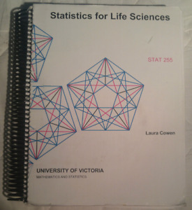 UVic STAT 255 Textbook