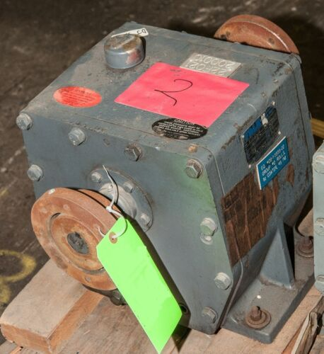 10 Hp FALK Enclosed Gear 4.12 Ratio Reducing Gearbox Drive #1040-FC2A, 1925 RPM