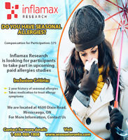 Take Part in a Paid Clinical Research Study (For Allergies)