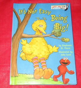 "Hardcover ""beginning beginner"" book ""It's Not Easy Being Big"""