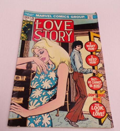 1973 Our Love Story #26 Marvel Comics VINTAGE