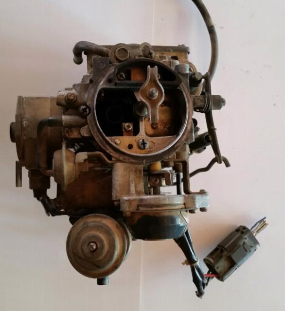 1986 Nissan navara D21 carburetor. | Engine, Engine Parts ...