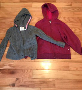 Two Girls' sweaters - Size 8