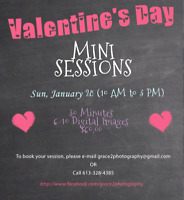 Valentine's Day Mini Photography Sessions