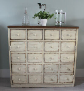 Pottery Barn Apothecary Style Cabinet