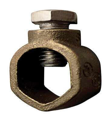 Sigma 58 In. Bronze Ground Rod Clamp 1 Pk