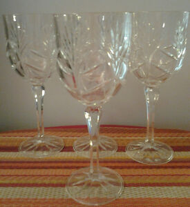 """The """"4pcs Genuine Crystal Glass Set"""" for sale"""
