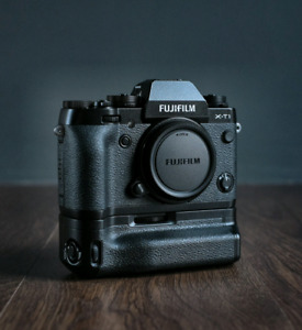 Fuji Xt1 with battery grip and 3 yrs extended warranty