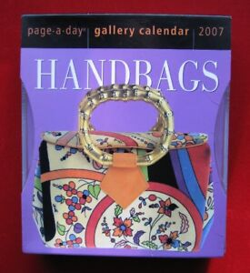 Handbags Page-a-day Gallery Calendar 2007