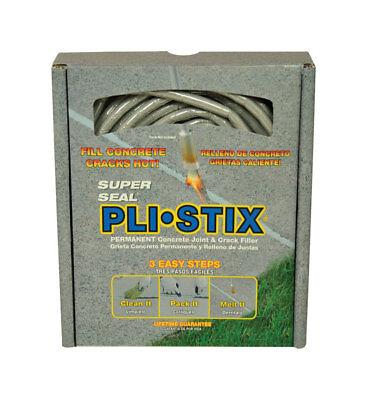 Super Seal Pli-stix Flat Gray Concrete Patch And Repair 30 Linear Ft.