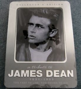 NEW Sealed James Dean Anniversary Collection/ 3 DVD set
