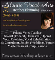 Atlantic Vocal Arts- Professional Voice Lessons
