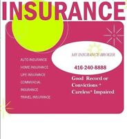 CHEAP AUTO INSURANCE*HOME*COMMERCIAL*LIFE*BEST RATE*HIGH RISK