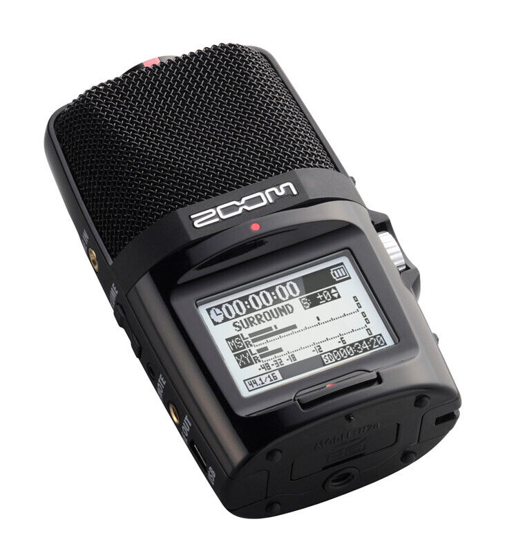 Zoom H2n Portable Stereo Mid-Side Recorder (NEW)