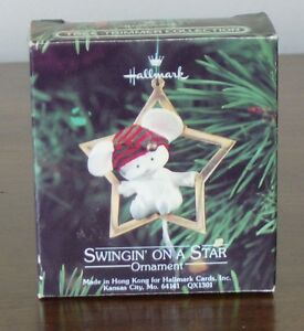 Swingin on a Star - Little Trimmer (1980) by Hallmark Kingston Kingston Area image 1