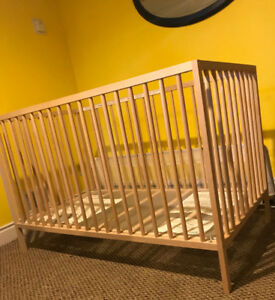 Baby Crib and Door Barrier