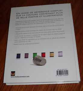 Ultimate Sewing Bible Modus Vivendi Book (in French) How to Sew West Island Greater Montréal image 7