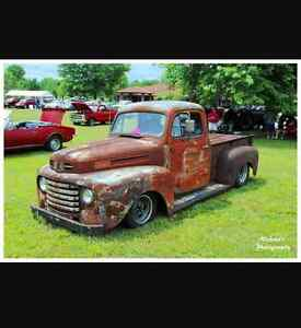Iso 1950 to 54 ford truck project