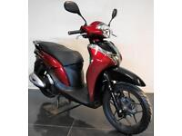 2018 67 HONDA ANC 125 H SH MODE SCOOTER BLACK/RED TRADE SALE 800 MILES HPI CLEAR