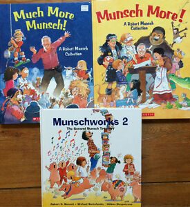 MUNSCHWORKS Robert Munsch Treasuries $10 each or 3 for $25