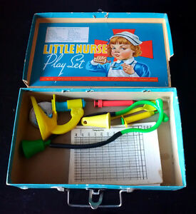 Vintage Mid Century 1950's Little Nurse Play Set Peter Austin
