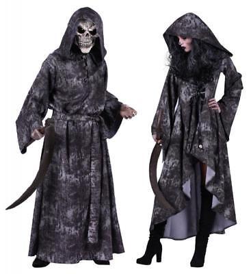 Walking Dead Girl Horror Zombie Gothic Kostüm Mantel Kleid Frack Umhang Kapuze (Dead Zombie Kostüme)
