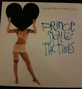 "Prince Sign ""O"" The Times - Vinyl Recordi"