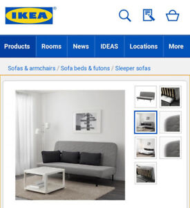 NEW! Ikea Futon (Queen)