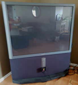 Free 52in projector tv