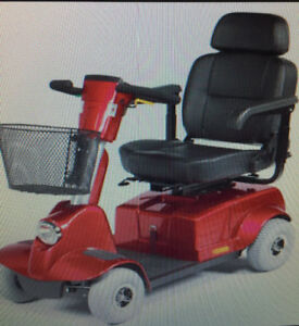 Fortress 1700 series scooter