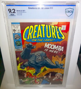 Creatures on the Loose #11 CBCS 9.2 1971 Jack Kirby Dick Ayers