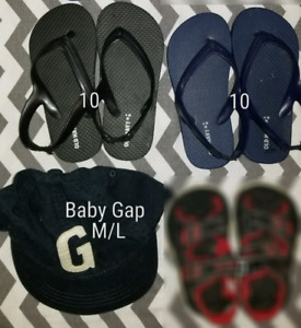 Size 9-13 kids shoes and slippers