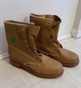 Vintage 1970's Greb Kodiak - Steel Toe Insulated Boots - Size 7