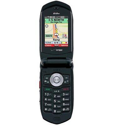 Casio G'zOne Rock C731 - Black (Verizon) Phone ONLY No CID Display